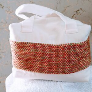 "ALT=""Bamboo fabric toiletry bag"""