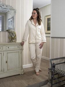 "Alt=""Pijama de algodón orgánico"""