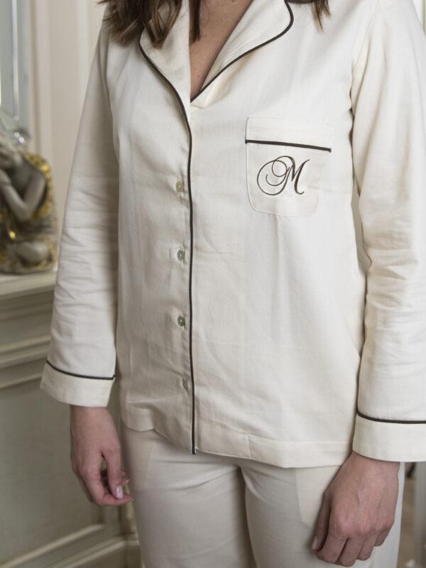 """Alt=""""Pijama de algodón ecológico"""""""