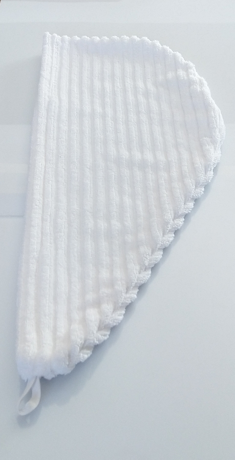 """Alt=""""Mesures de la serviette Turban"""""""